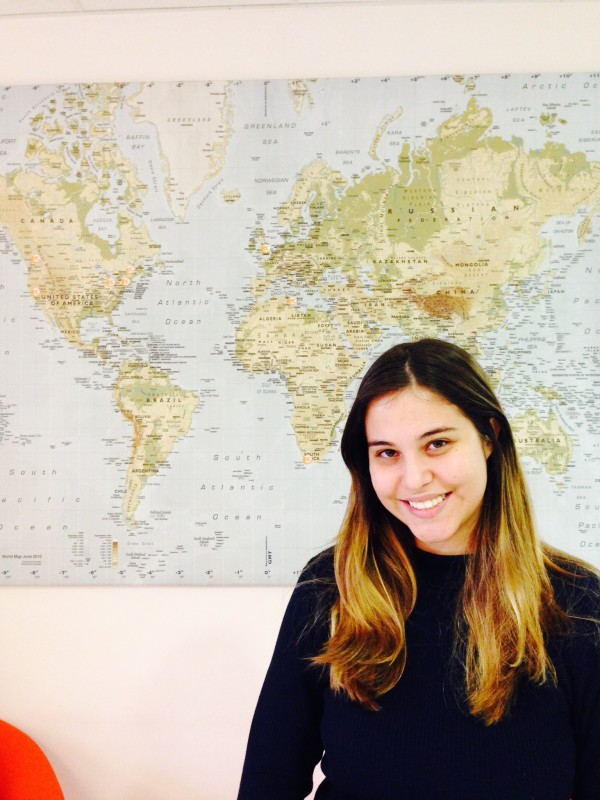 Nina from Brazil studied English at EC Oxford