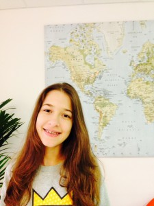 Milena is learning English at EC Oxford