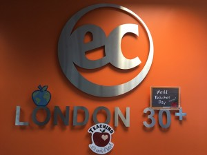 The English language is first and foremost at EC LONDON 30+