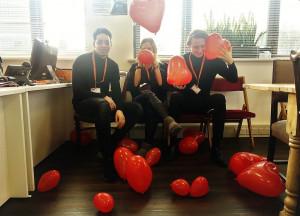 Valentine's Day Our Interns