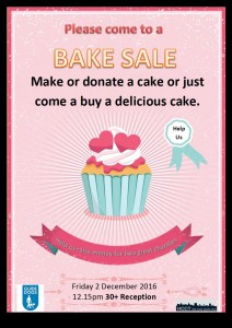 Charity bake sale at EC London Adult English School