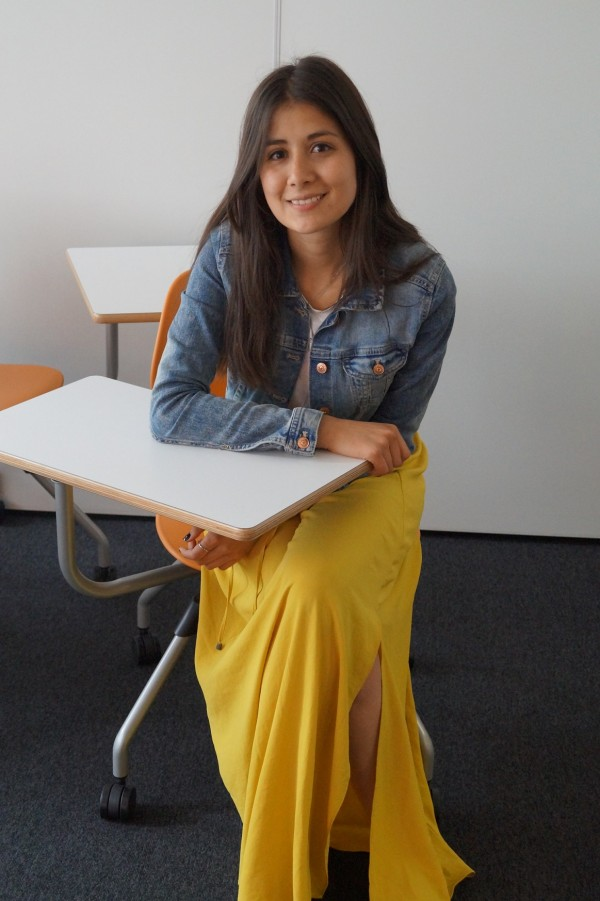 Juliana from Colombia studied at EC Manchester English School for 3 months