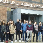 English in the City class in the science museum