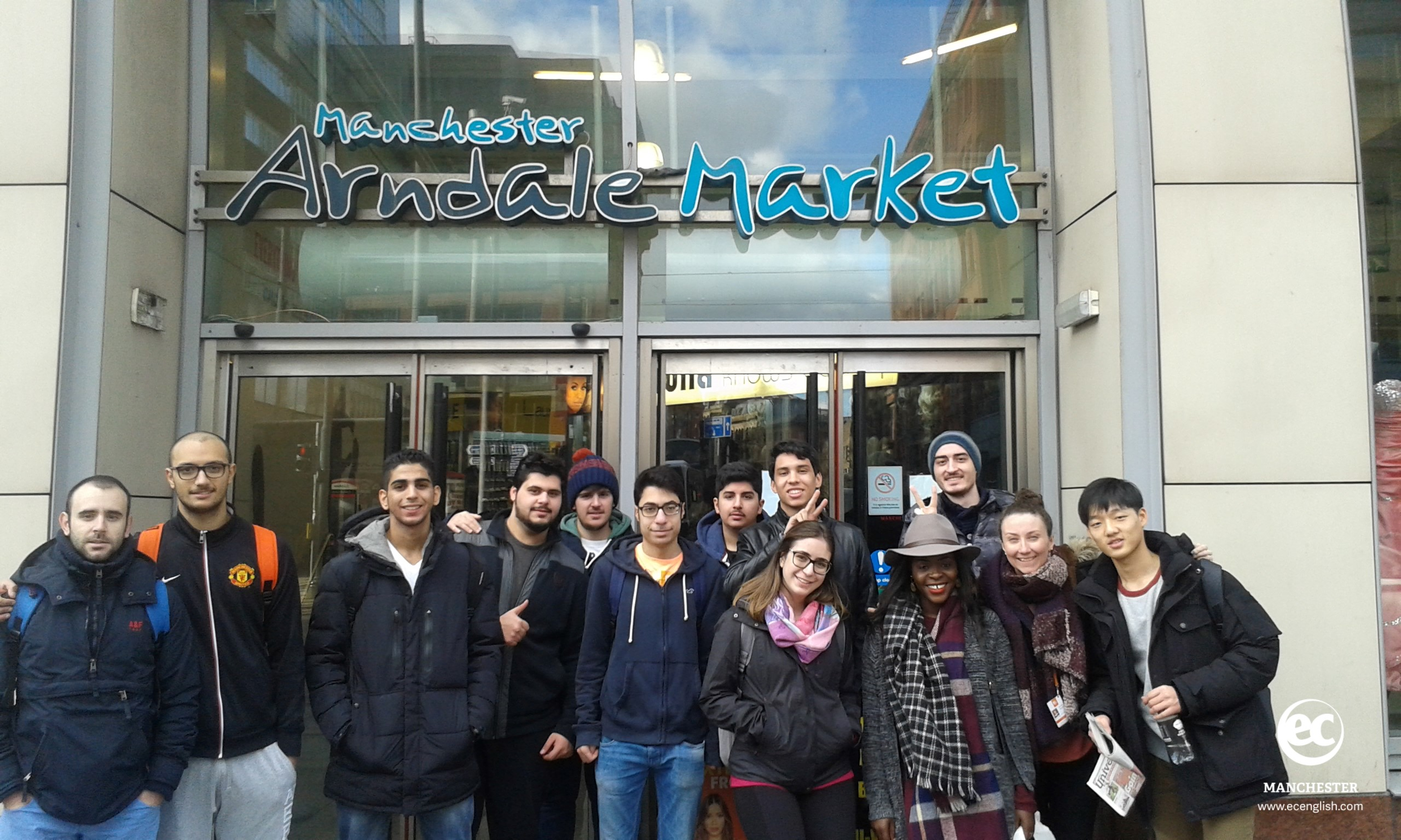 English in the City class in Arndale