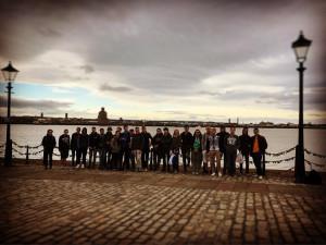 Italians students learning English at EC Manchester Language School