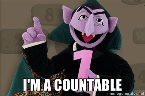 Countable Dracula