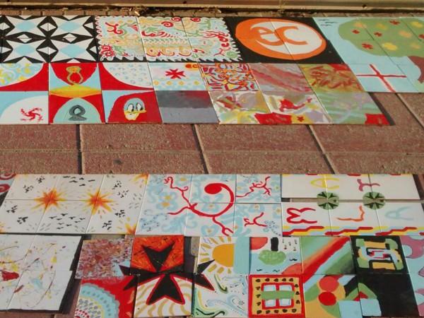 EC Malta Freestyle Painted Tiles