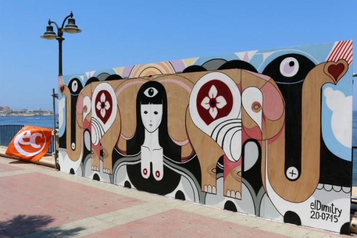 art festival in Sliema