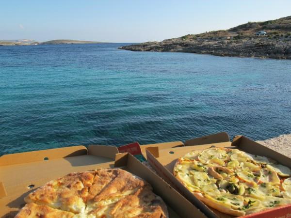 Eating in Malta