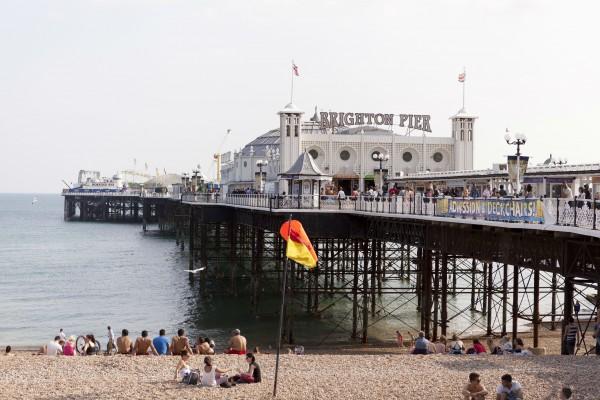 Estudar inglês na Inglaterra - Brighton Beach