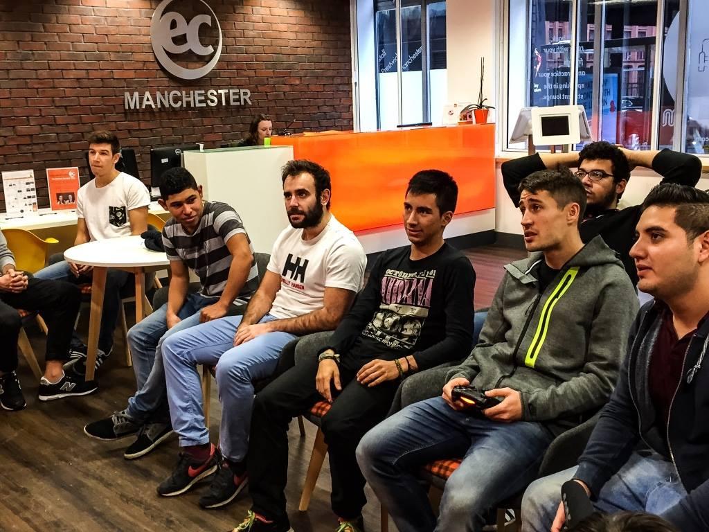 Bojan Krkic at EC Manchester