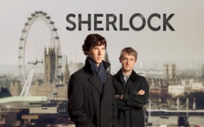 Learn English watching Sherlock