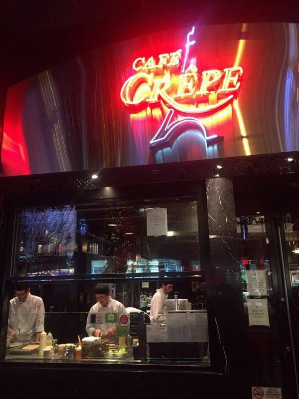 Cafe Crepe Vancouver