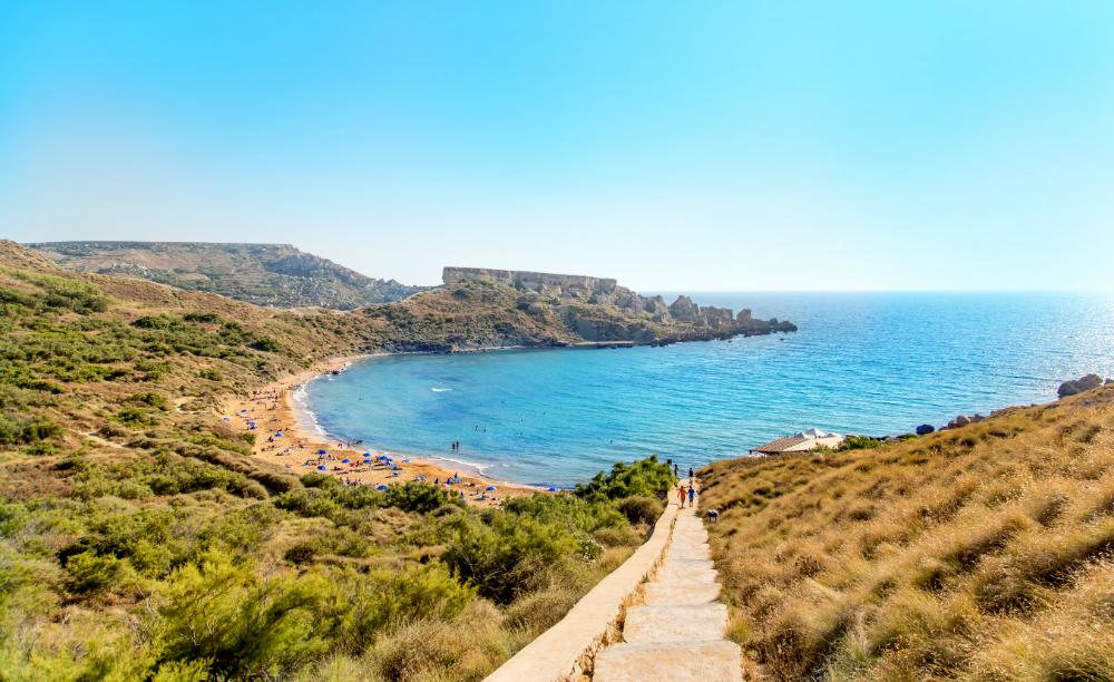 Побережье острова Мальта