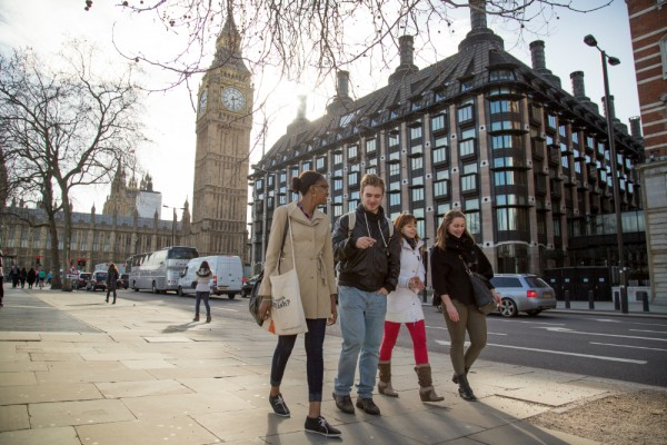Students in London