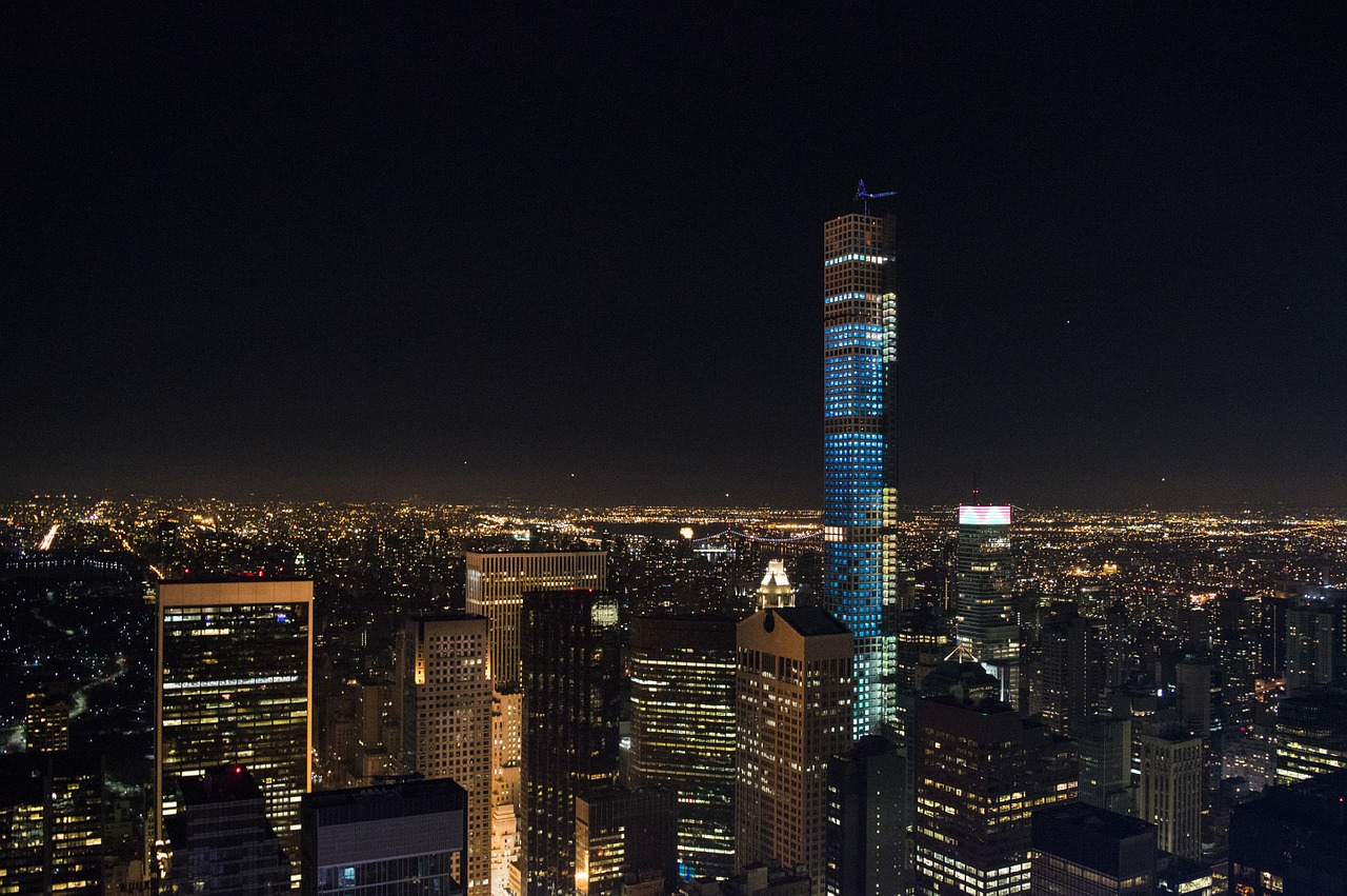 Top Of The Rock View