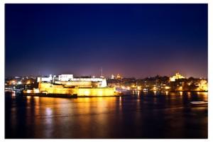 Birgu by night