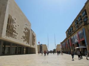 Valletta main gate