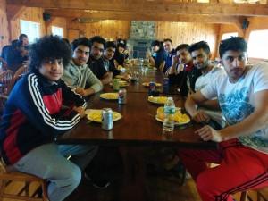 Lodge breakfast
