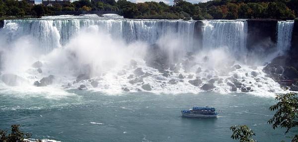 EC Fredonia English Students on Niagara Falls Trip
