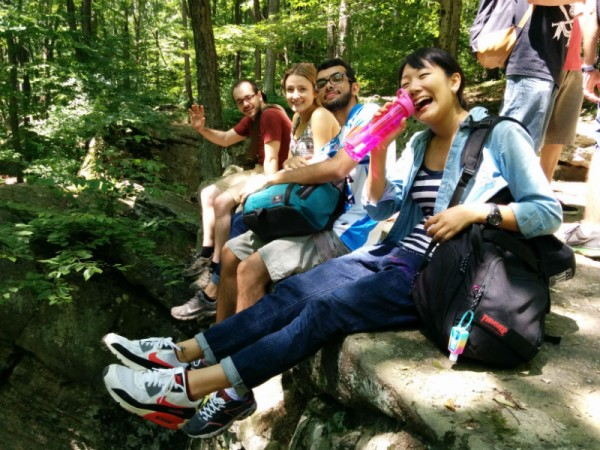 EC Fredonia English Language Center students visit Allegheny State Park