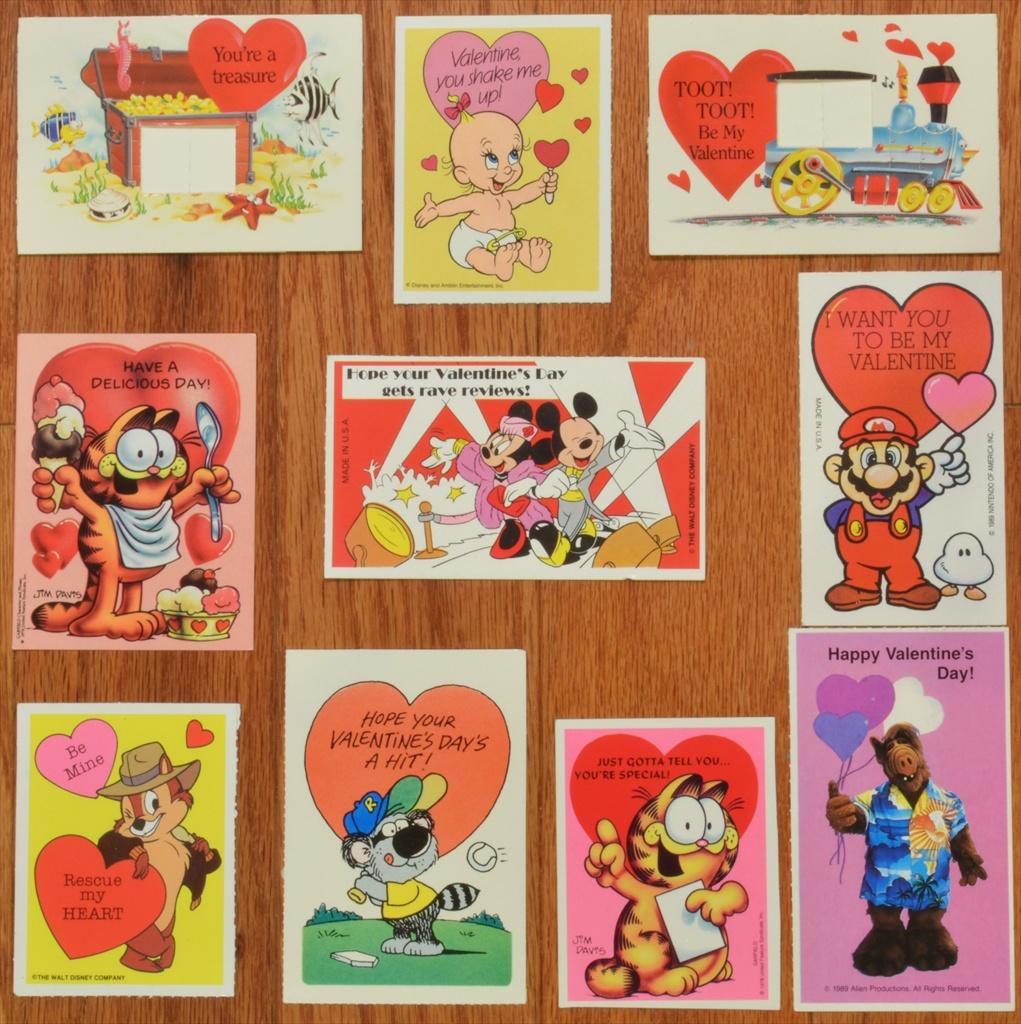 Valentines Day EC Oswego – Box of Valentine Cards