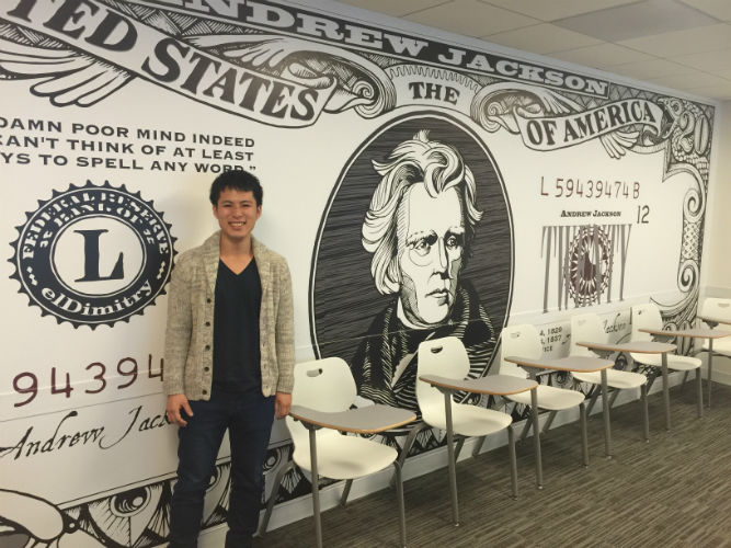 Ichiro Imanishi shares his experience studying English at EC Washington, DC