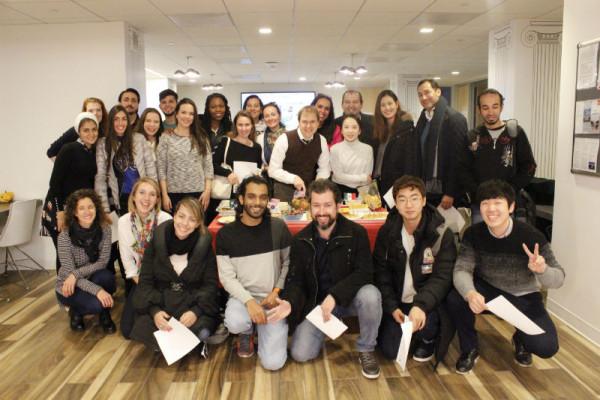 Thanksgiving at EC Washington English Language Centres