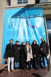 EC Washington at the Brookings Institute