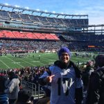 Our student at Patriots Game