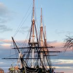 Clipper Ship in Boston