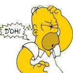 Homer Slang D'oh