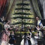 Victoria Albert Christmas Tree EC Brighton