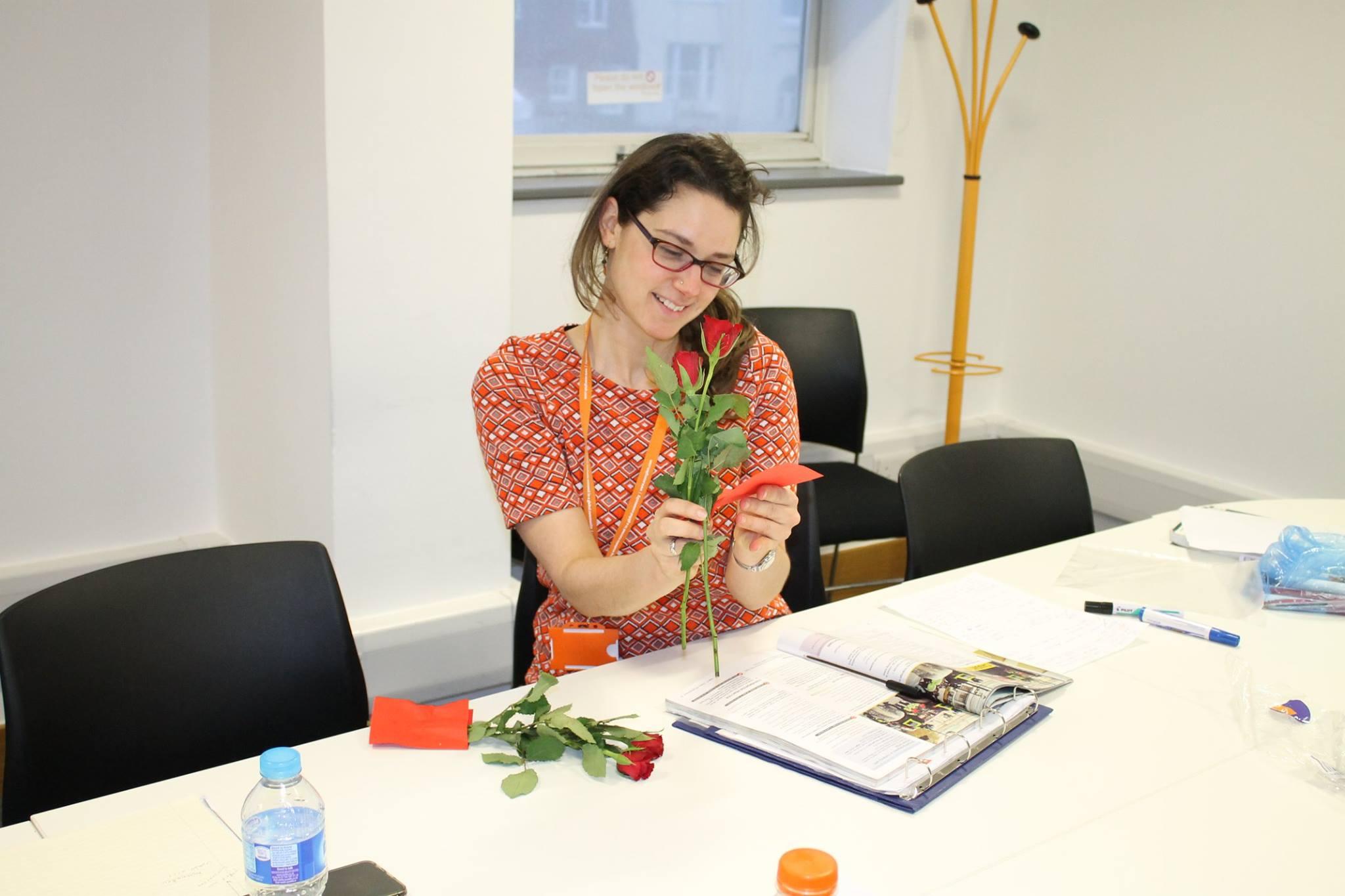 Valentines Rose 2 English Courses in Brighton