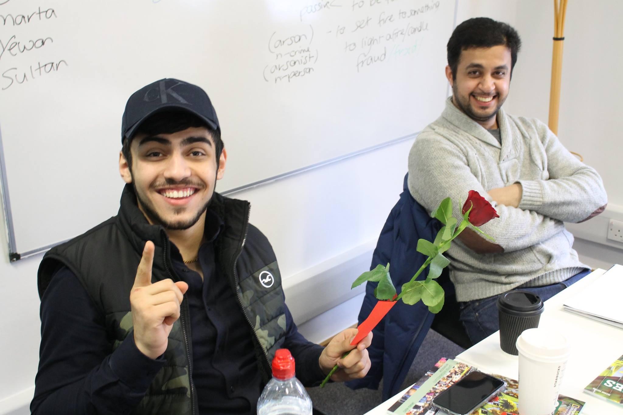 Valentines Rose 3 English Courses in Brighton
