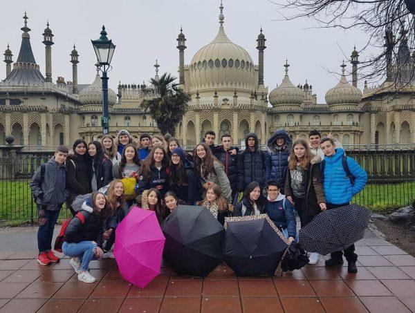 Walking tour EC Brighton English Courses