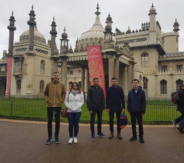 Walking Tour Brunch EC Brighton English Courses