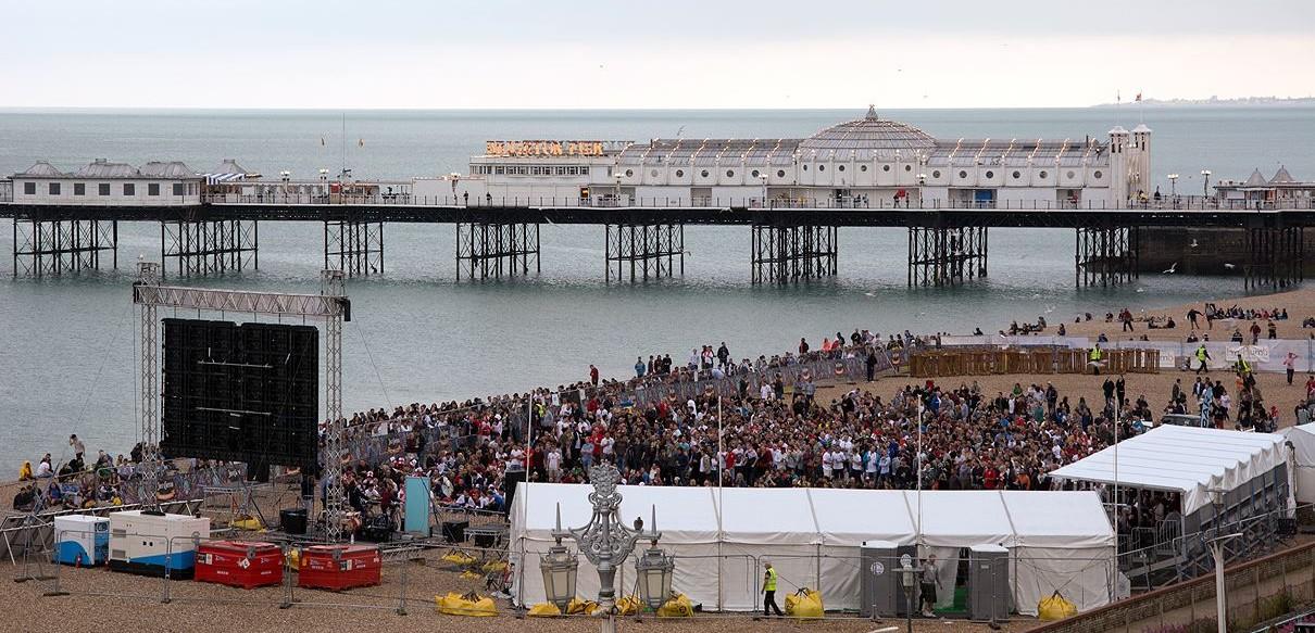 Brighton Big Screen EC Brighton