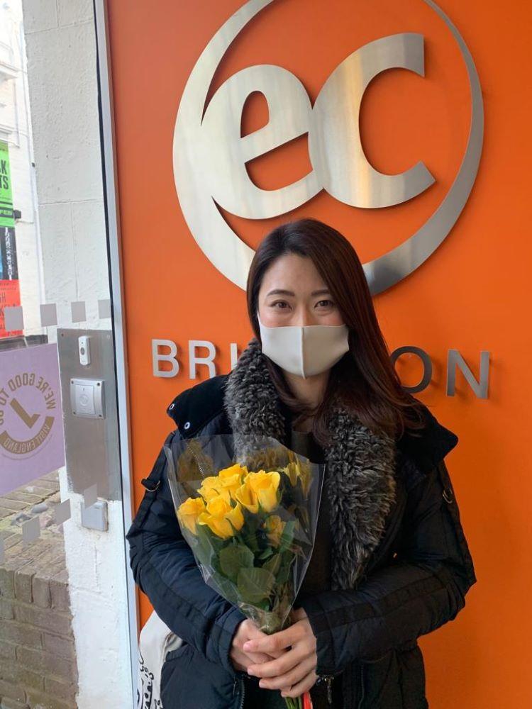 EC Brighton student Chiya Ando
