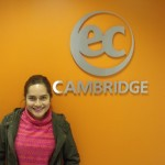 Anamaria is learning General English in Cambridge