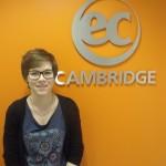 Benedicte from Switzerland studies Intensive English at EC Cambridge