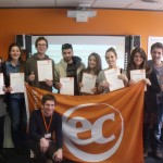 Goodbye and Good Luck to EC Cambridge ESOL students