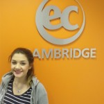 Deniz from Germany studying IELTS in Cambridge