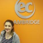 Deniz from Germany studying IELTS in Cambridge