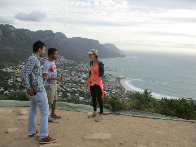 Kate is one of the teachers who provide this unique experience to the EC Cape Town students