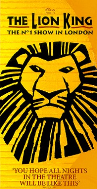 Lion King Musical Discover It In London