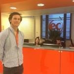 Niklas, intern at EC English school in the UK
