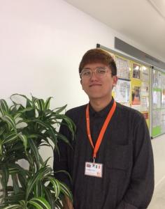 Jungkeun Shin is the new intern at EC London English School