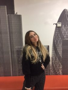 Daria Smykova took English classes for adults in London