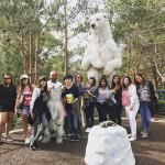 EC San Diego Student's first Zoo trip.